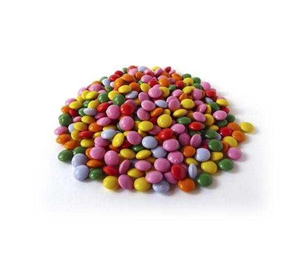 Mini grageas de chocolate