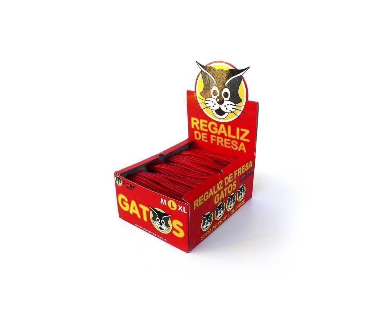 Expositor de barritos de regaliz Gatos de fresa L
