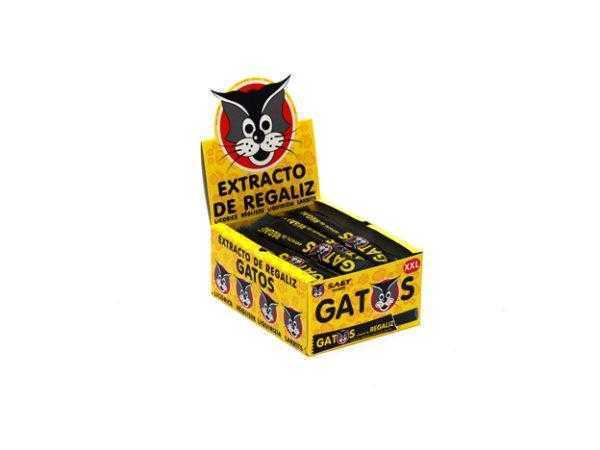 Expositor de barritas envueltas de etracto de regaliz Gatos XXL