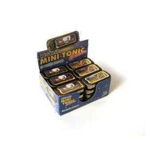 Latitas mini tonic colección Navidad rellenas de regaliz mentolado