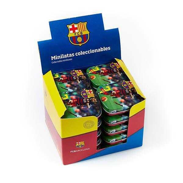 Expositor-20-latitas-fc-barcelona-jugadores-Barça