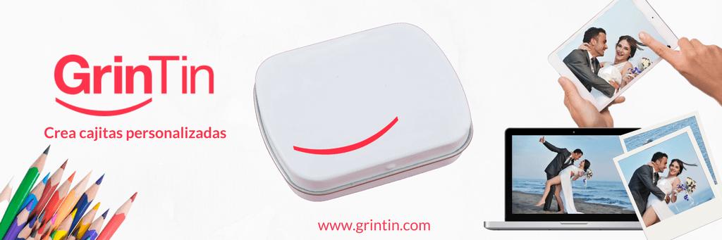 GrinTin, cajitas personalizadas made by SaetSweets