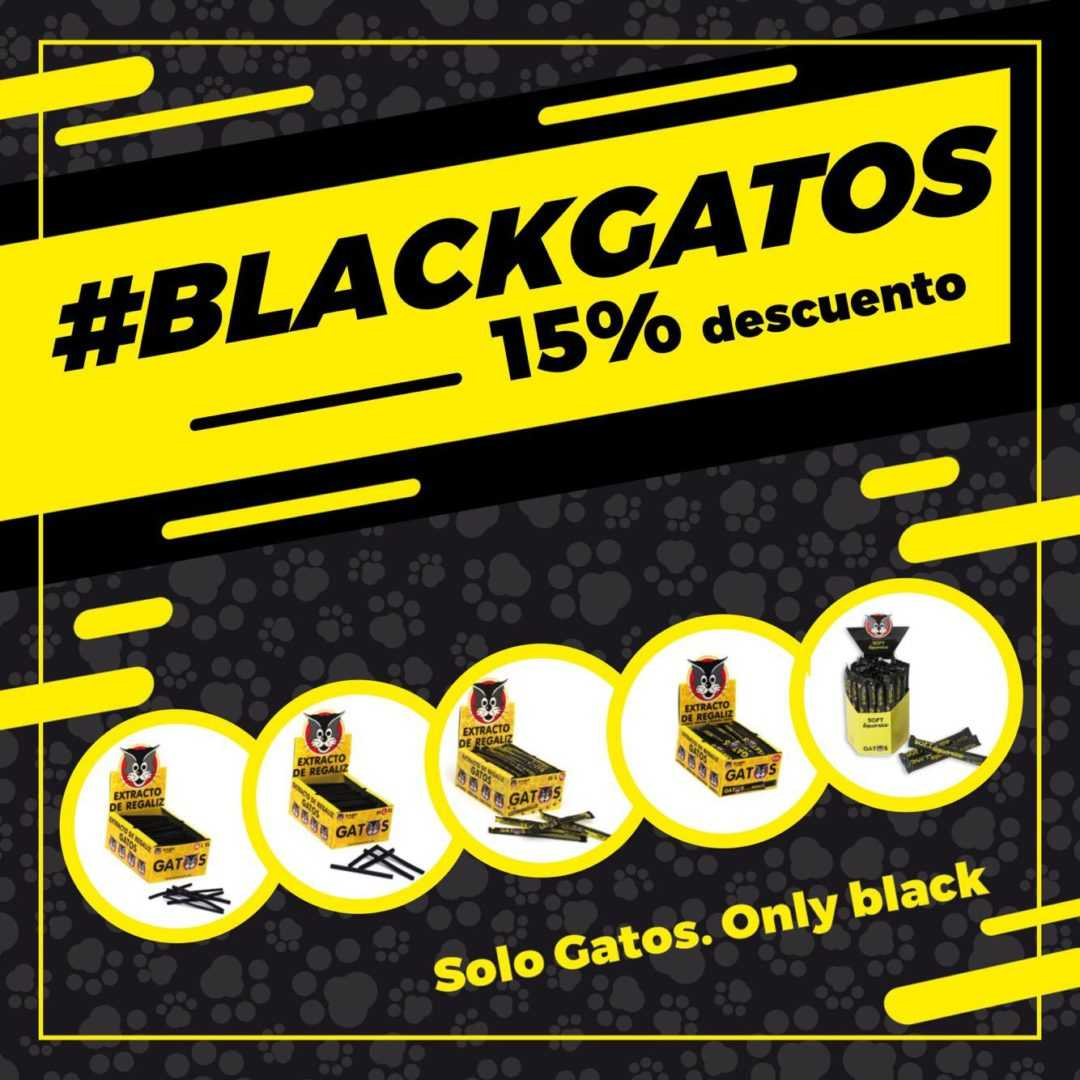¡Descuento Black Friday GATOS! 😻